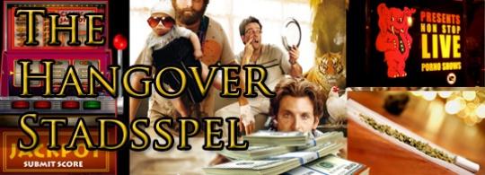 The Hangover Stadsspel!